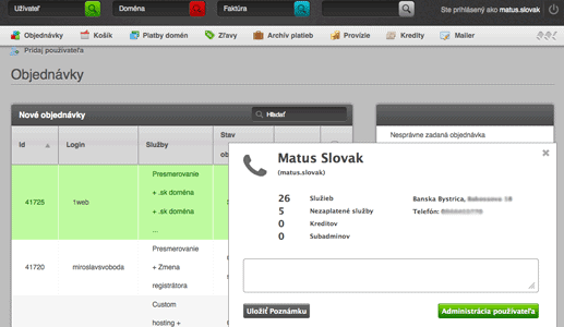 websupport-helpdesk-call-info-system