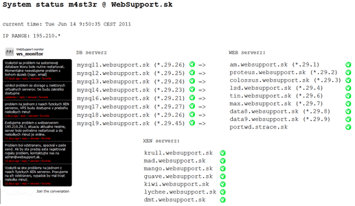 websupport-system-status