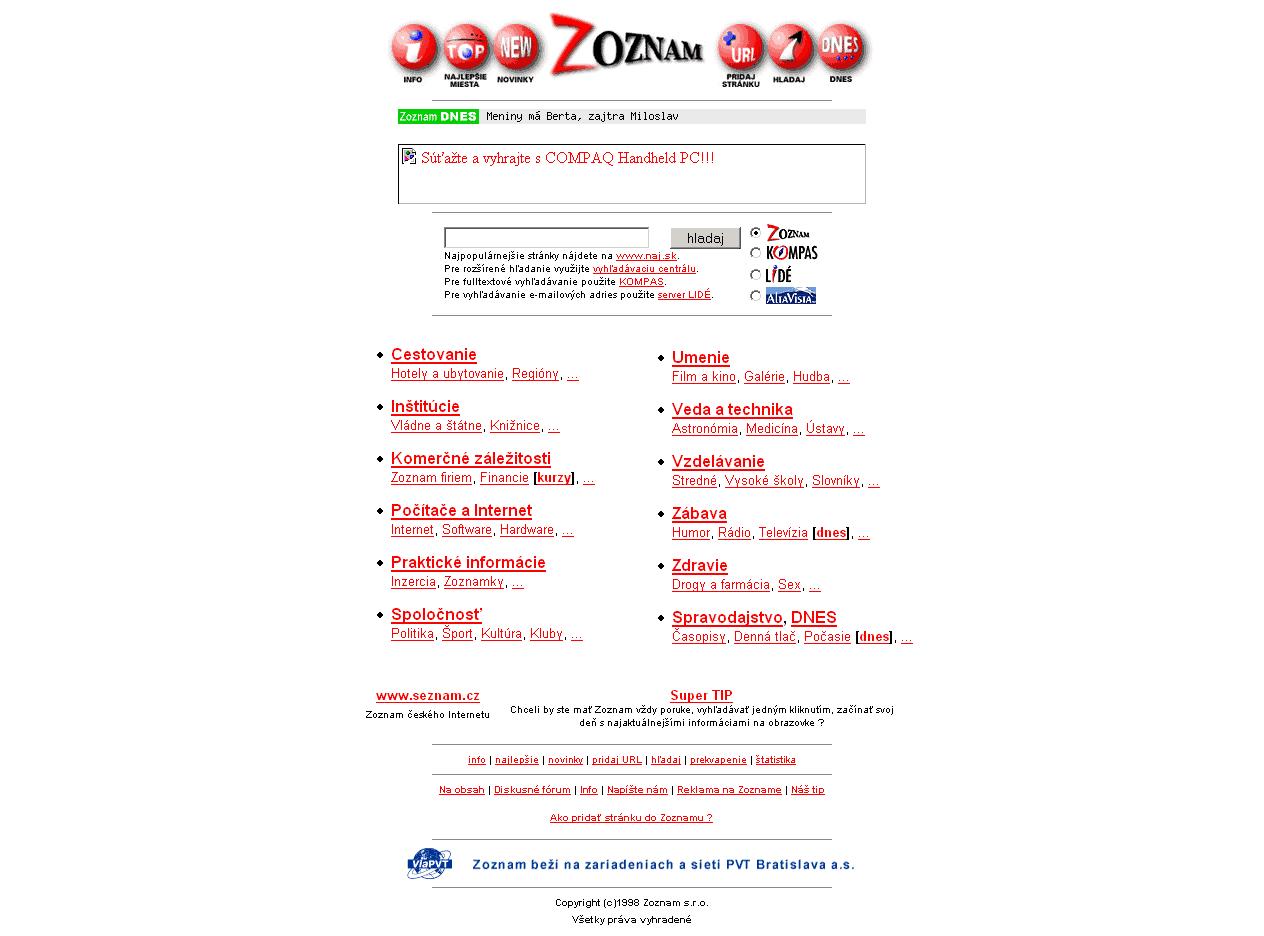 Zoznamka prsteň aktualizácia