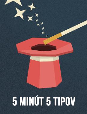 5 trikov, ktoré sa naučíte za 5 minút