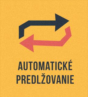 Automatické predlžovanie služieb