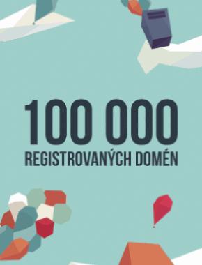 Dosiahli sme 100 000 aktívnych domén