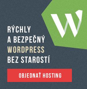 Vyskúšajte rýchly WordPress