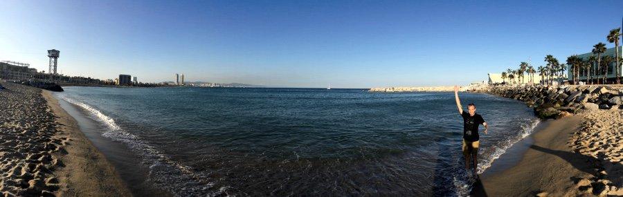 Na pláž