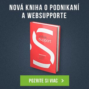 Nová kniha o podnikaní a WebSupporte od Michala Trubana