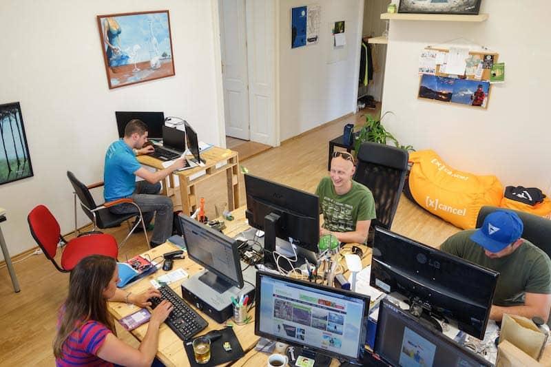 Cancel coworking hlavná miestnosť