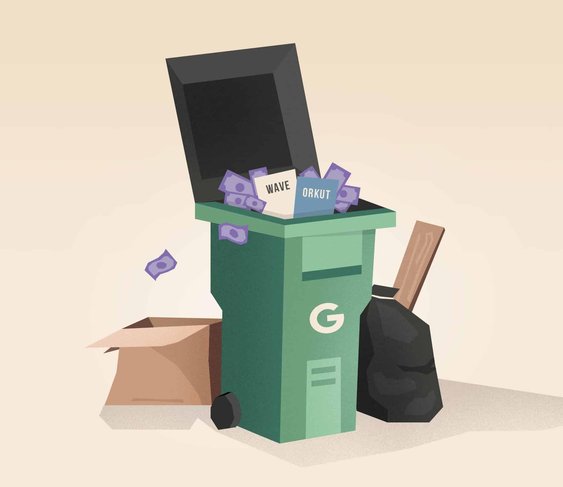 Ako Google failuje