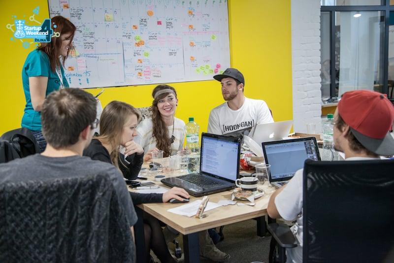 Banka Žilina startup weekend