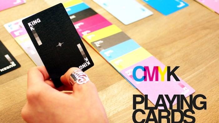 cmyk hracie karty