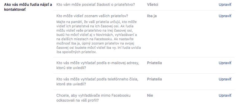 Ako kontaktovať Facebook