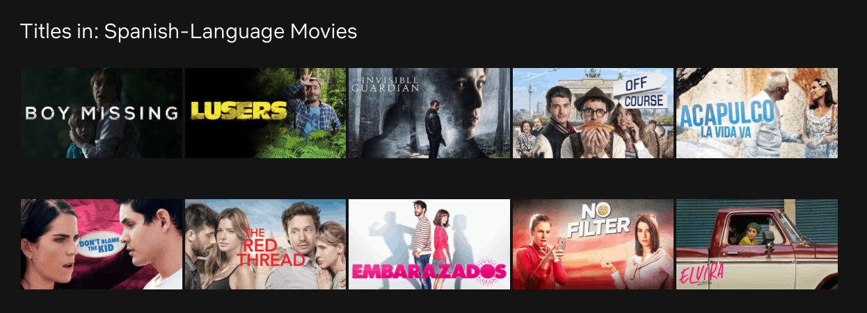 Netflix učenie jazykov