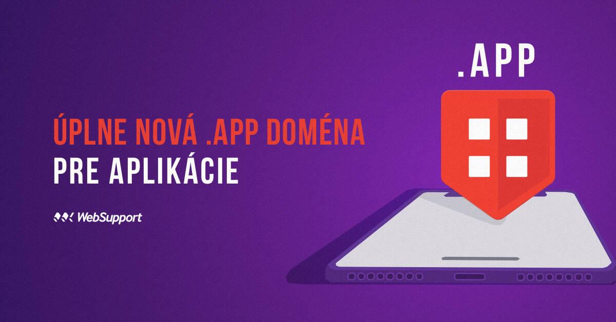 app doména vo WebSupport