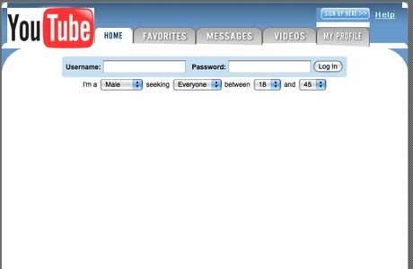YouTube pôvodný web