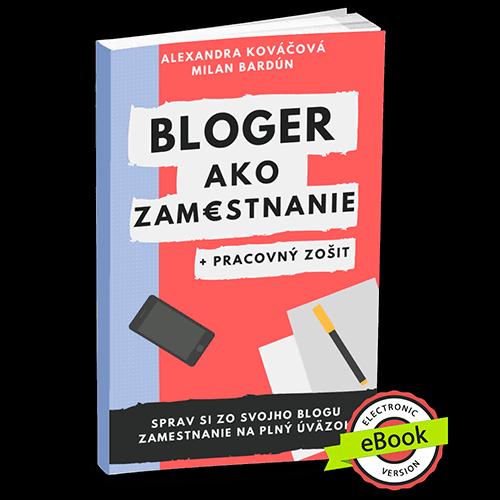 Bloger ako zamestnanie