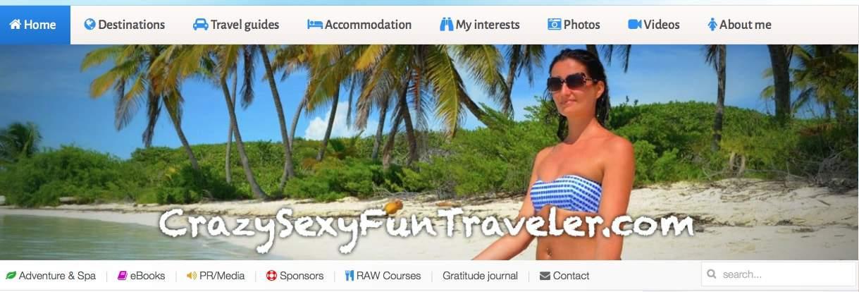Crazy Sexy Traveler