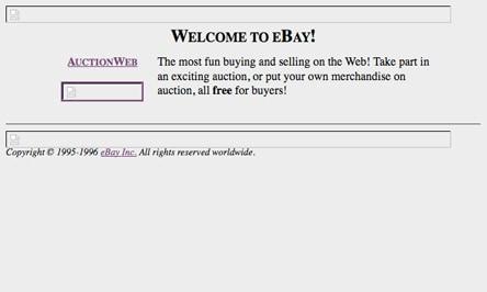E-bay dizajn 1995