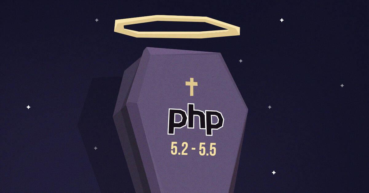 Ukončenie prevádzky PHP 5.2 - 5.5.