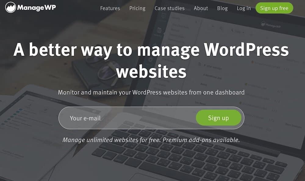 ManageWP - #1 voľba pre správu WordPress webov