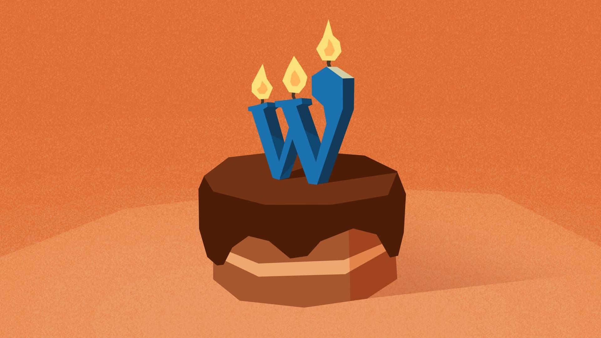 WordPress narodeniny